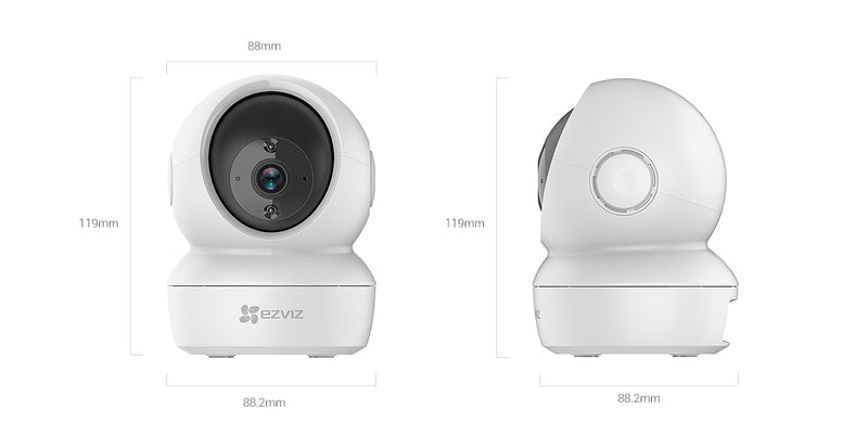 Ezviz C6N Smart Wi-Fi Pan & Tilt CCTV Camera