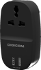 Digicom Power Adapter 1ports Universal Socket With 2 Usb Charging Ports