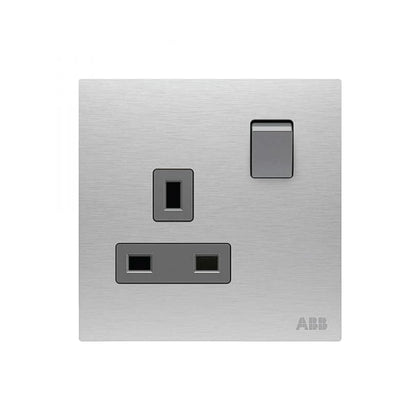 ABB Single Switch Socket 13A