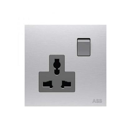 ABB Single Universal Socket 13A