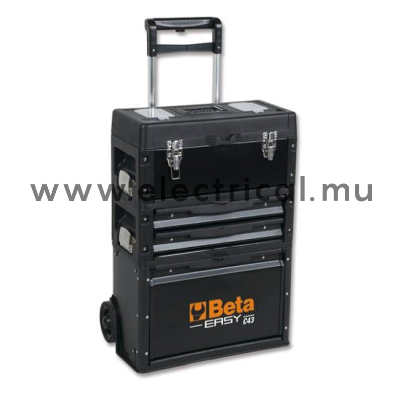 Beta C43 - Tool Trolley With 3 Stackable Modules
