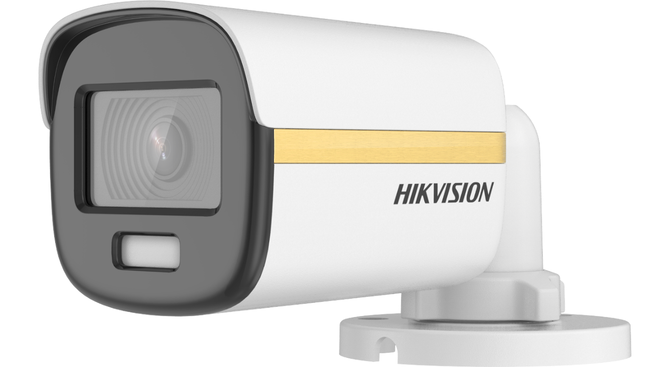 Hikvision (DS-2CE10DF3T-F) 2 MP ColorVu Fixed Mini Bullet Camera