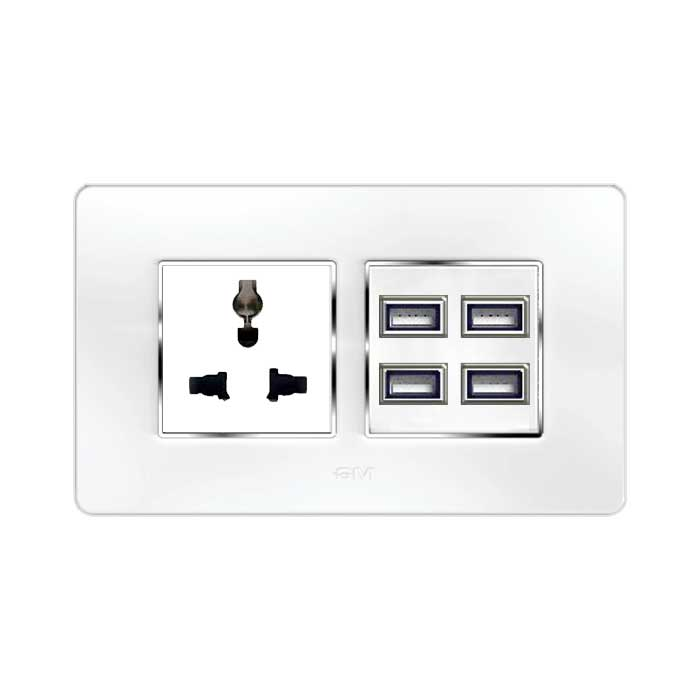 GM Combined Sockets (GX10) (13Amp, USB Ports)
