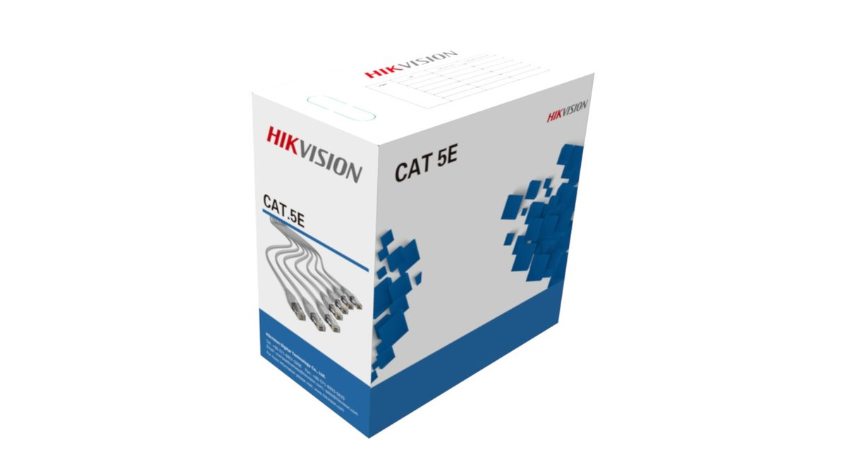 Hikvision UTP CAT5e Network Cable (305m)