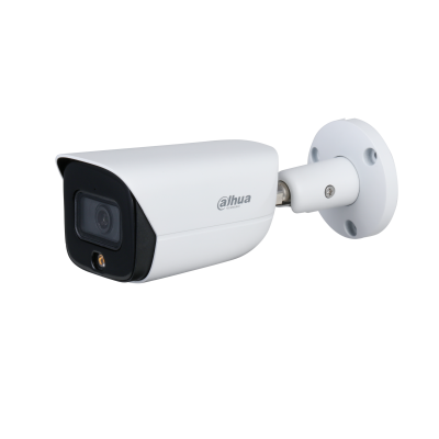 Dahua (IPC-HFW3449EP-AS-LED) 4MP Full-color Warm LED Fixed-focal Bullet WizSense Network Camera