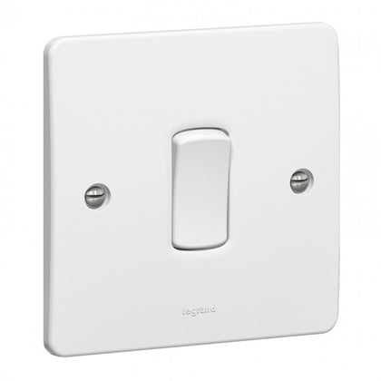 Legrand Synergy Switches Single Pole 10AX - 1G | 2G | 3G | 4G | 6G