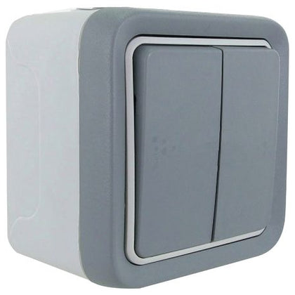 Legrand Plexo Weatherproof Switches 10 AX - 250 V 1G Intermediate | 1G 2W | 2G 2W