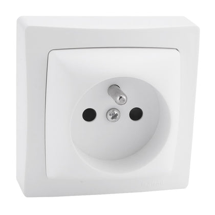 Legrand ASL Surface Mounting Sockets with screws 2P + E 16A - 250 V