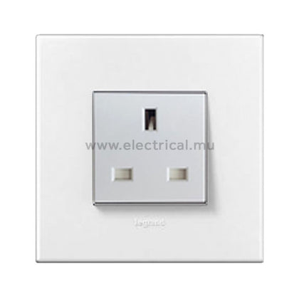 Legrand Arteor British Standard Sockets with Plates - 2P + E - 13A - Single | Double