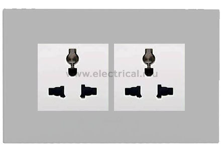 Legrand Arteor Multistandard Socket with Plates Single | Double
