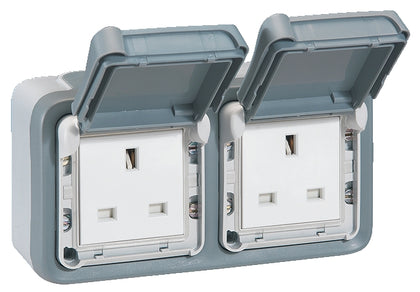 Legrand Plexo Weatherproof Single | Double Sockets