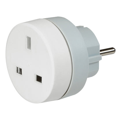Legrand Travel Adaptor (British to French/German Standard) - 2P+E - 16/13 A