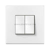 Legrand Arteor 2 Way Switch with Plate - 10 A - 250 V~ 1G | 2G | 3G | 4G | 6G