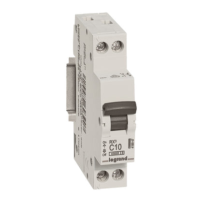 Legrand MCBs RX³ - C Curve 1P + NL - 4500A Range from 6A to 32A