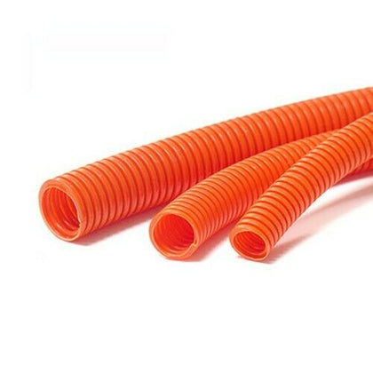 POLYFLEX Pliable Corrugated Conduit - 50M Orange