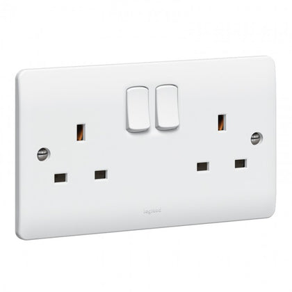 Legrand Synergy Single | Double Sockets