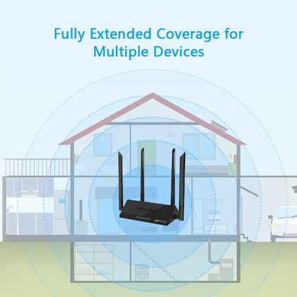 Wavlink ARK 4 – N300 Wireless Smart Wi-Fi Router