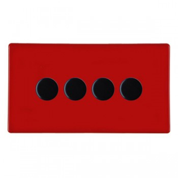 Hartland CFX Colours Resistive/Inductive Trailing Edge Push On/Off Rotary Multi Way Dimmers