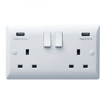 Hamilton Vogue USB Power Sockets