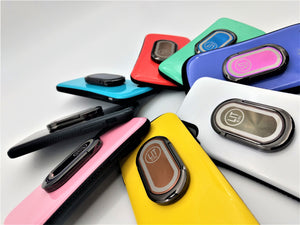 LIT Ring assorted colors attached to phone