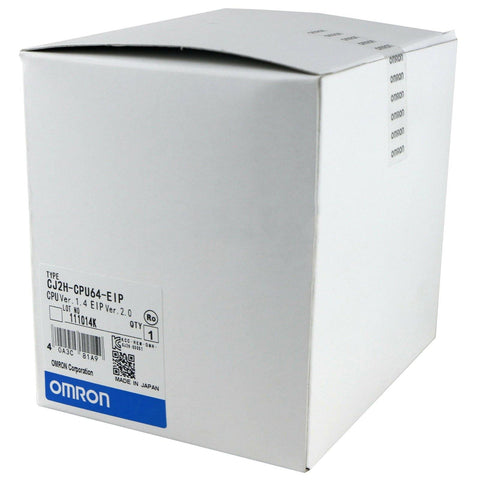 New Original Omron CJ2H-CPU64-EIP CPU Units PLC Module - Rockss Automation