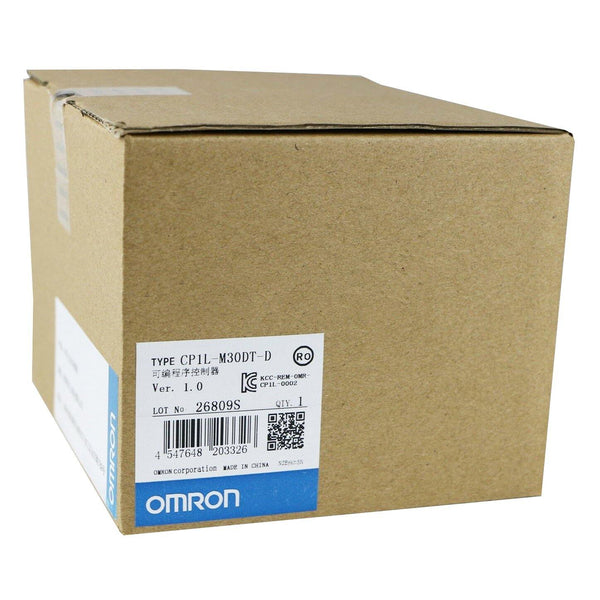 New Original Omron CP1L-M30DT-D 30 Points Memory Capacity CPU PLC Module Controller - Rockss Automation