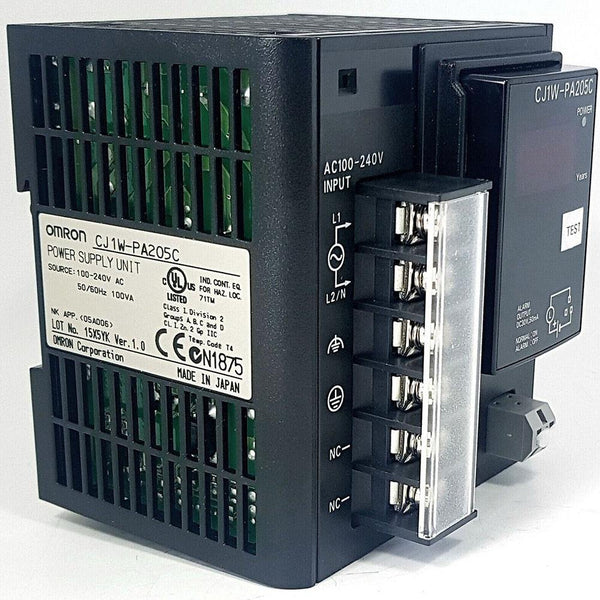 New Original Omron CJ1W-PA205C Power Supply Unit PLC Module Controller - Rockss Automation