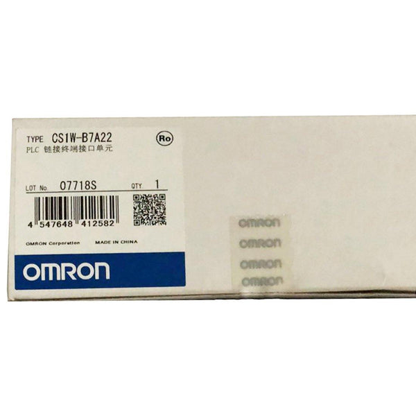 New Original Omron CS1W-B7A22 PLC - Rockss Automation