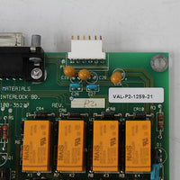 Applied Materials 0100-35217 0110-35217 VAL-P2-1259-21 Semiconductor Board Card - Rockss Automation