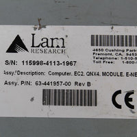 Lam Research 115998-4113-1967 63-441957-00 Sermiconductor Controller - Rockss Automation