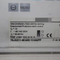 SIEMENS 7SJ5311-4EA02-1CA0/FF Relay Protection Device - Rockss Automation