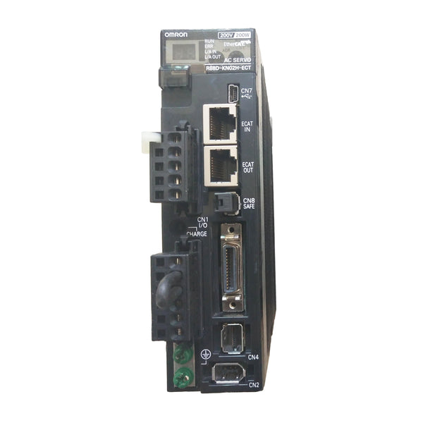 New Original Omron EtherCAT Bus Driver 200W R88D-KN02H-ECT-Z - Rockss Automation