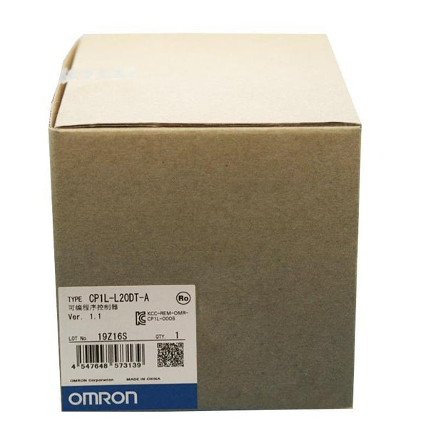 New Original Omron CP1L-L20DT-A 20 Points Memory Capacity CPU PLC Module Controller - Rockss Automation