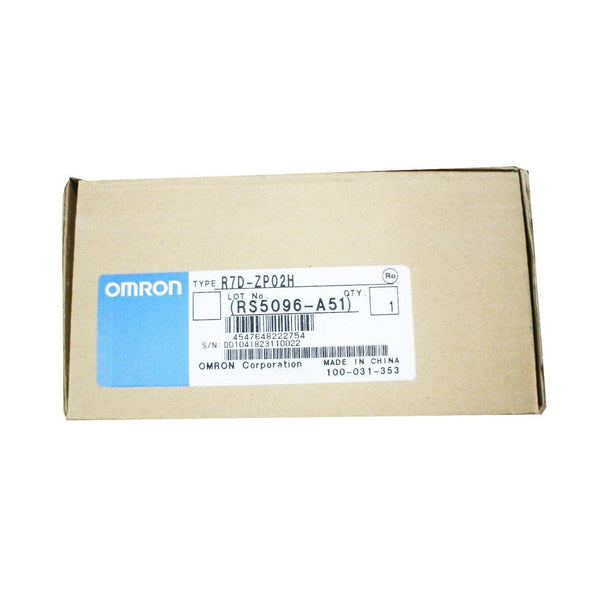 New Original Omron AC Servo Driver 200W R7D-ZP02H - Rockss Automation