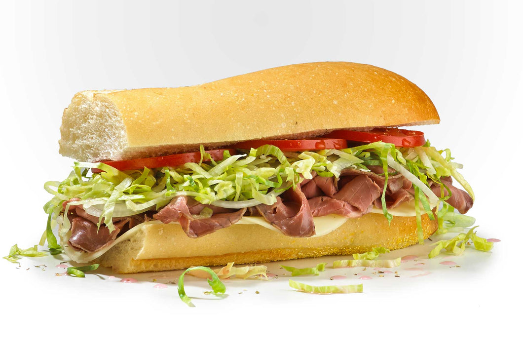 Famous Roast Beef & Provolone