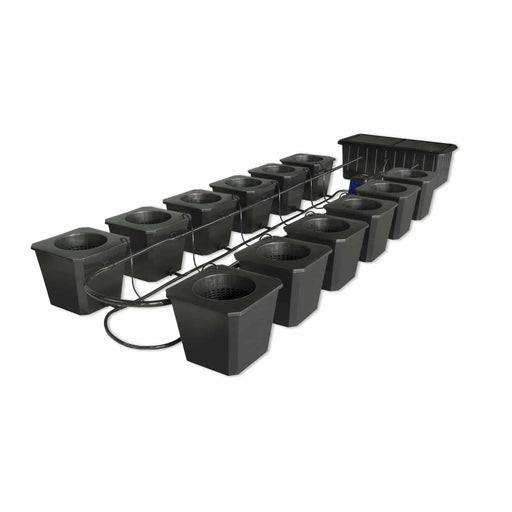 SuperCloset 12-Site Bubble Flow Buckets Hydroponic Grow System - SproutRite