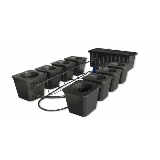 SuperCloset 8-Site Bubble Flow Buckets Hydroponic Grow System - SproutRite