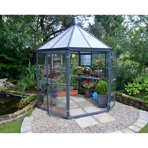 Oasis Hex 7' x 8' Greenhouse HG6000 - SproutRite