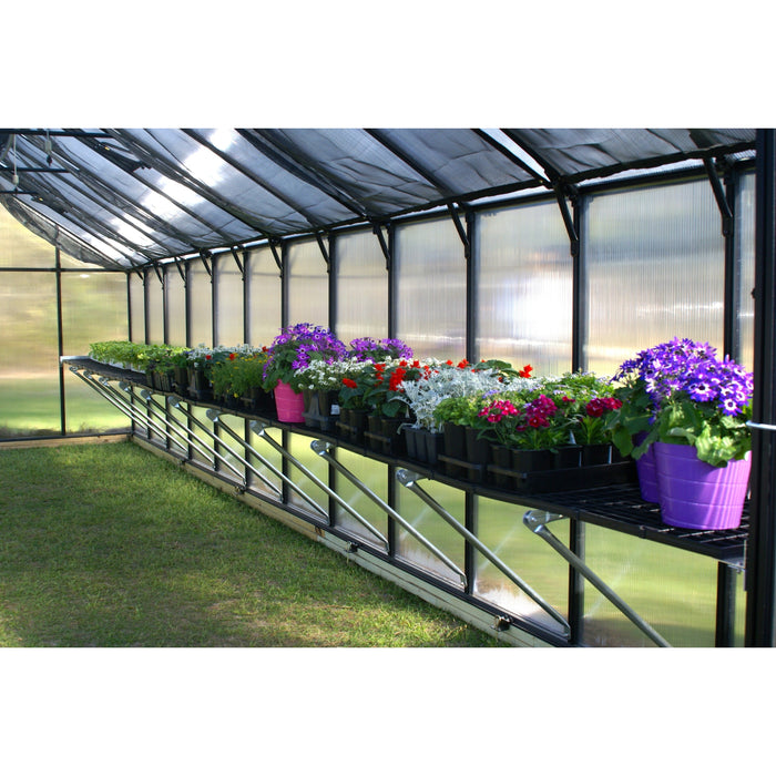 Riverstone Monticello Greenhouse 8×8 – Premium Package - SproutRite