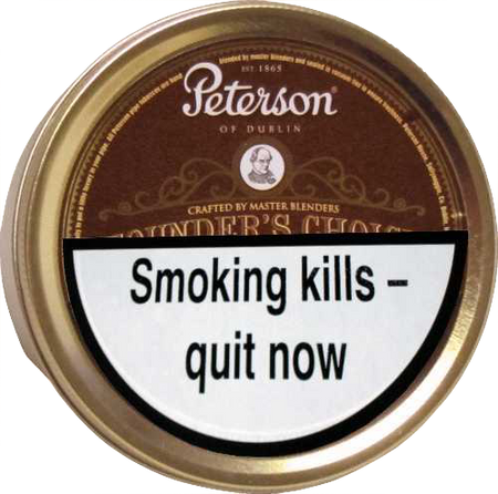 Peterson Founders Choice Pipe Tobacco 100g Tin