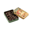 Chocolate Amatller 70% cocoa leaves tin 60g