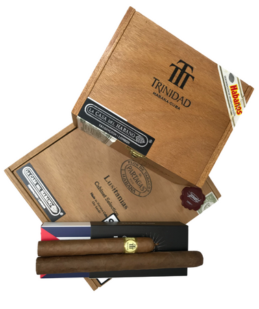 Launch Offer - Partagas Lusitanias 1998 & Trinidad Coloniales 2006