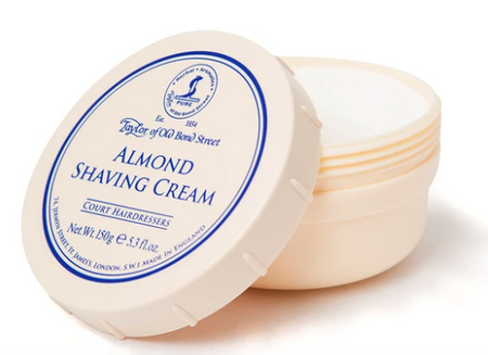 Taylor of Old Bond Street Almond Shaving Cream Bowl 150g