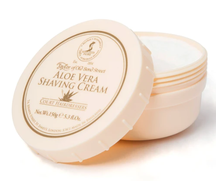 Taylor of Old Bond Street Aloe Vera Shaving Cream Bowl 150g