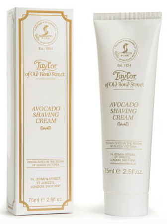 Taylor of Old Bond Street Avocado Shaving Cream Tube 75ml