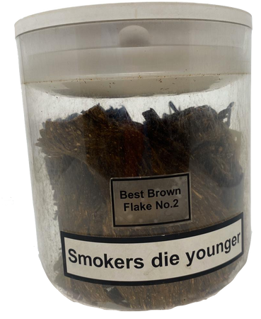 Best Brown Flake No.2 Pipe Tobacco