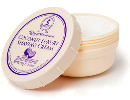 Taylor of Old Bond Street Coconut Shaving Cream Bowl 150g