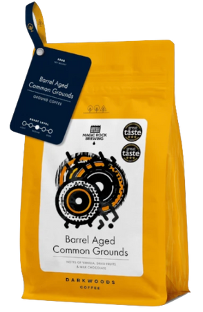 Common Grounds – Barrel Aged Coffee