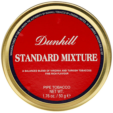 Dunhill Standard Mixture Pipe Tobacco 50g Tin