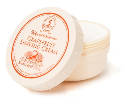 Taylor of Old Bond Street Grapefruit Shaving Cream Bowl 150g